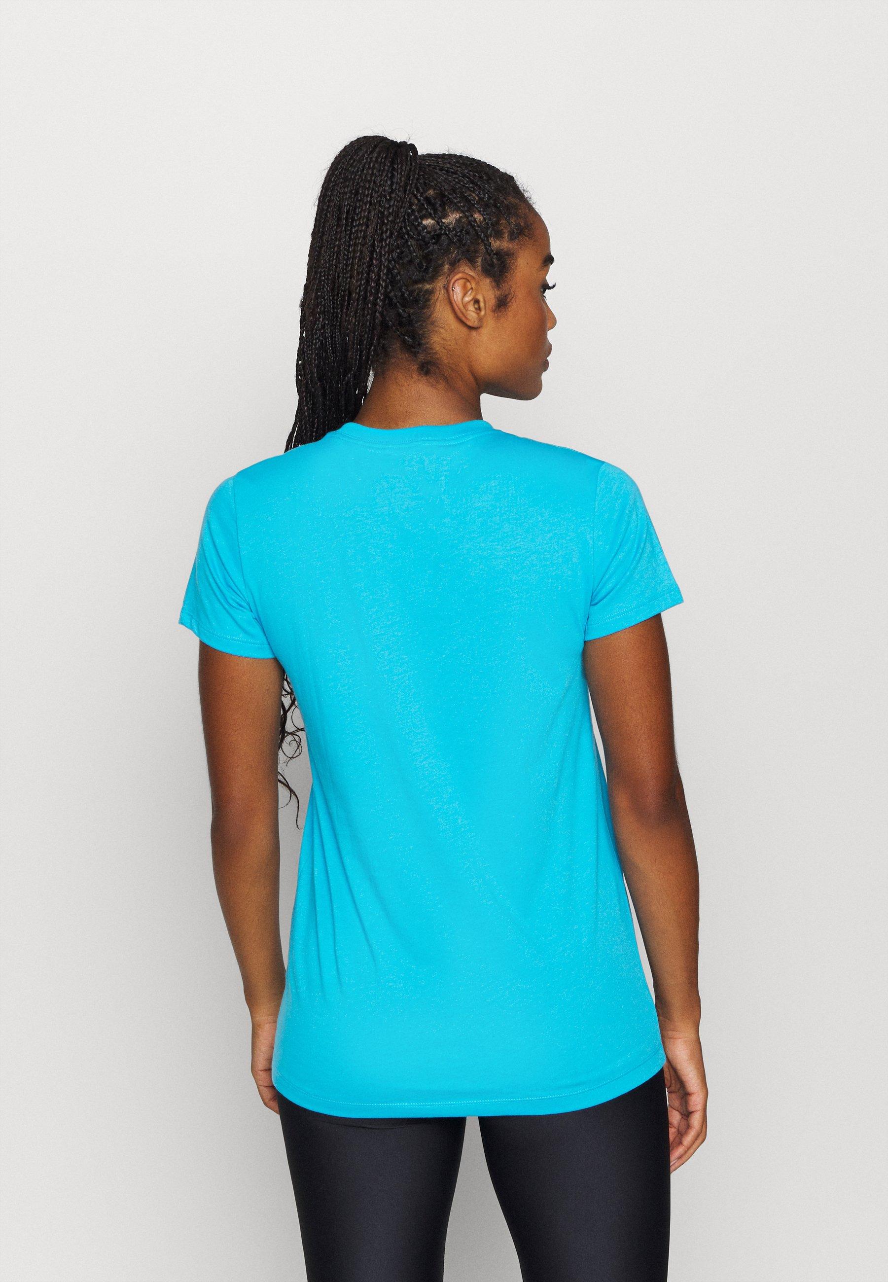 Under Armour LIVE SPORTSTYLE GRAPHIC - Print T-shirt - blue topaz nOdcb