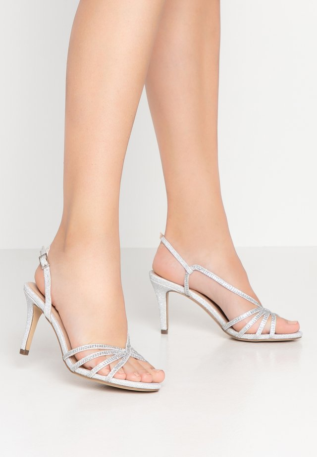 HATTICE - High heeled sandals - silver