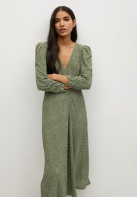 Mango - Day dress - groen - 2