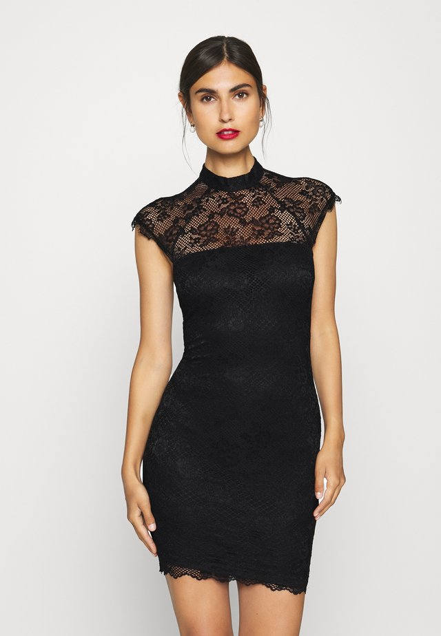 YOKI DRESS - Cocktail dress / Party dress - jet black