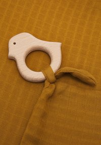 Müsli by GREEN COTTON - FIGURE BLANKIE TEETHER UNISEX - Soother - pesto - 2