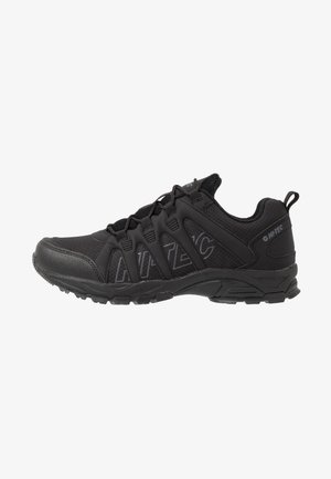 WARRIOR - Hiking shoes - black/grey