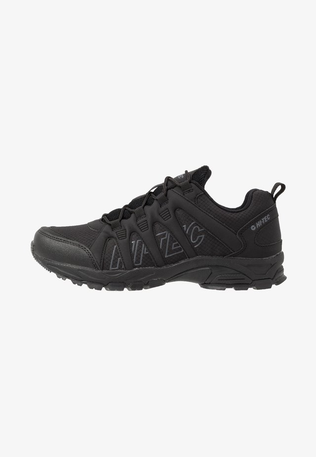 WARRIOR - Hikingsko - black/grey