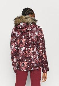 Roxy - JET SKI - Snowboard jacket - oxblood red - 2