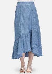 HELMIDGE - A-line skirt - hellblau - 0