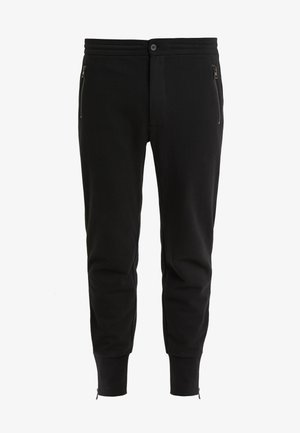ZIP JOGGER TRACK PANT - Tracksuit bottoms - black
