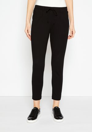 PANTS ANKLE - Tracksuit bottoms - deep black