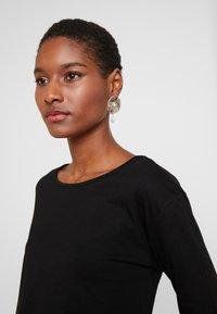 Anna Field - BASIC - Langærmede T-shirts - black - 3