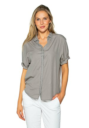 PUFFY - Button-down blouse - sage