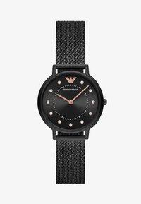 Emporio Armani - Klokke - black - 1