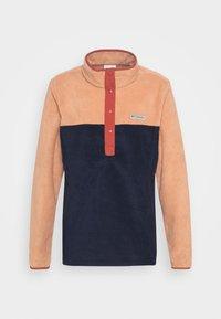 BENTON 1/2 SNAP - Fleece jumper - nova pink/dark nocturnal