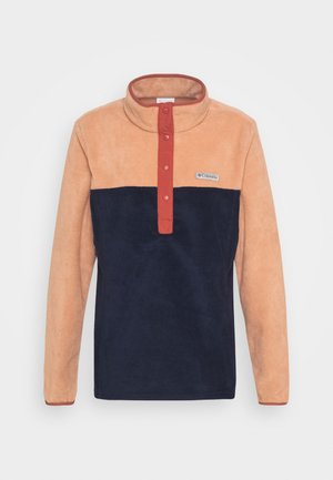 BENTON 1/2 SNAP - Fleece jumper - nova pink/dark nocturnal