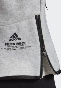 adidas Performance - ADIDAS Z.N.E. HOODIE - Zip-up hoodie - grey - 2