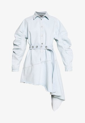 PEONY DRESS - Denim dress - blue denim