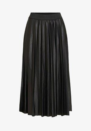 VINITBAN  - A-line skirt - black