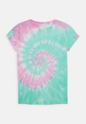 RAINBOW TIE DYE - Print T-shirt - multicolor