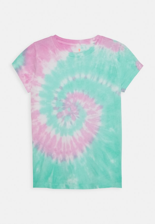 RAINBOW TIE DYE - Camiseta estampada - multicolor