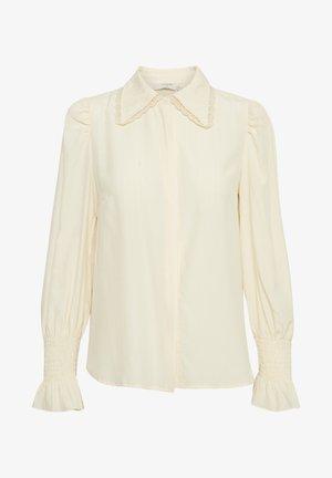 CRKULINA - Button-down blouse - eggnog