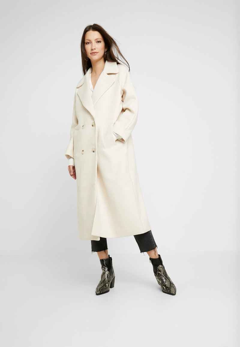YAS - YASMARGIT LONG COAT - Cappotto classico - white swan