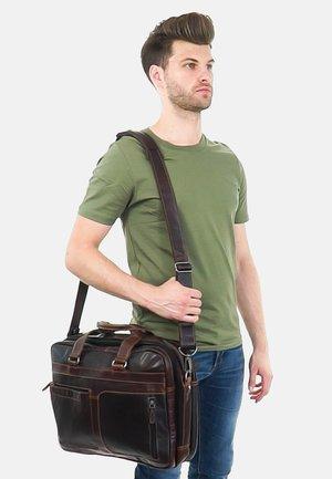 Laptop bag - dunkelbraun