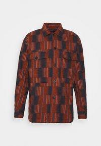 MATCH BOX - Skjorta - dark orange