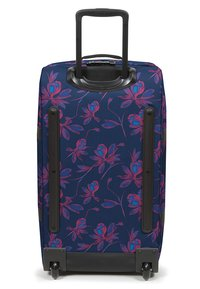 Eastpak - TRANVERZ M GLOWING GARDEN  - Wheeled suitcase - glow pink - 1