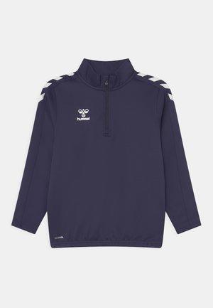 CORE HALF ZIP UNISEX - Long sleeved top - marine