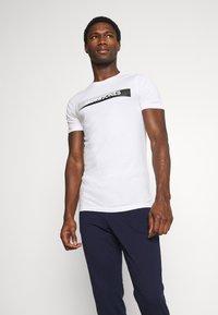 Jack & Jones - JACSIMON LONG PANTS - Pyjama set - maritime blue/white - 0