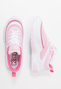 Kappa - SQUINCE MF - Sports shoes - white/rosé - 1