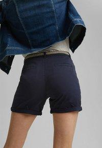 Esprit - STRETCH  - Shorts - navy - 7