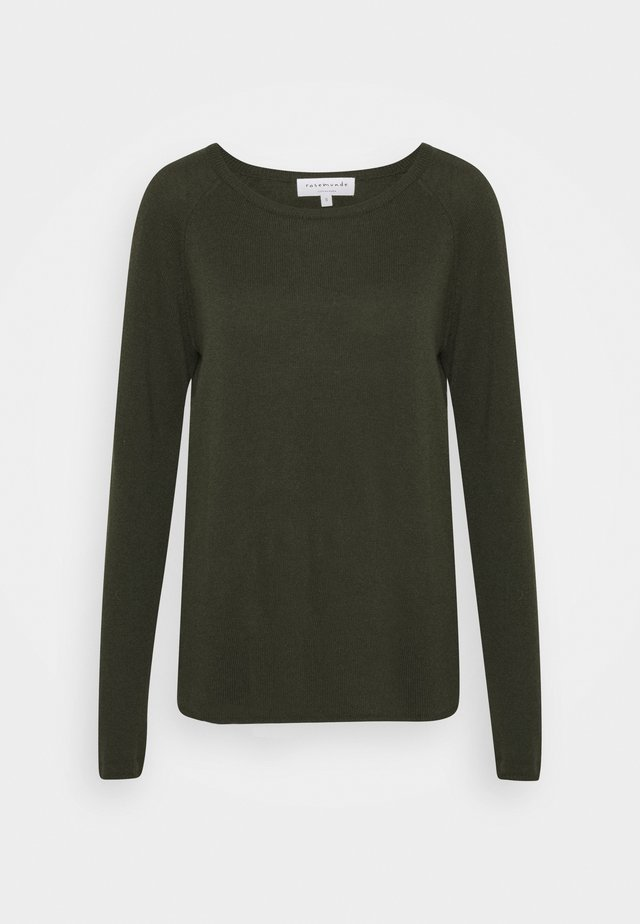 WOOL & CASHMERE  - Trui - green