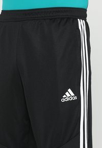 adidas Performance - TIRO AEROREADY CLIMACOOL FOOTBALL PANTS - Tracksuit bottoms - black/white - 5
