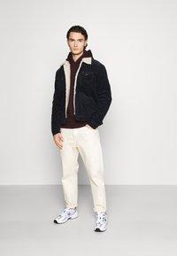 Burton Menswear London - HOOD 2 PACK - Hoodie - bordeaux - 0