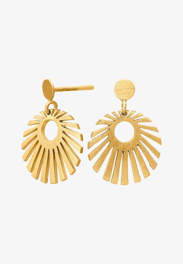 SUN52 - Earrings - gold