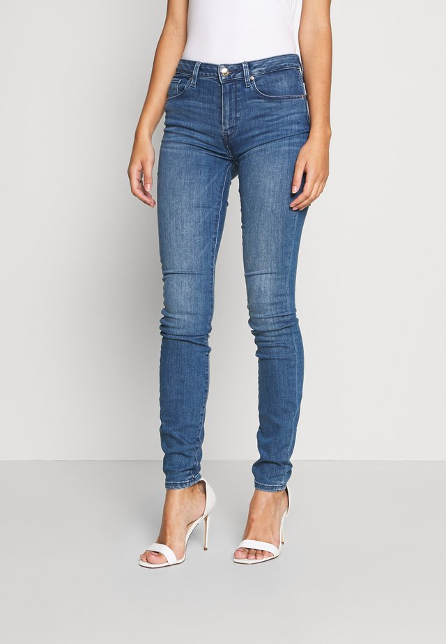 COMO SKINNY - Jeansy Skinny Fit - blue denim