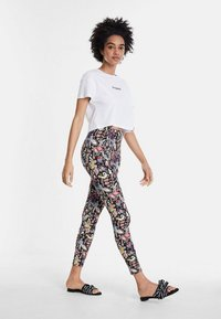 Desigual - DESIGNED BY CHRISTIAN LACROIX - Leggings - black - 1