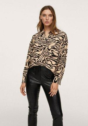 CROSSY - Button-down blouse - marron