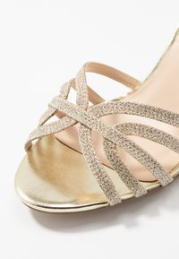 Paradox London Wide Fit - HARLEY WIDE FIT - Sandals - champagne glitter - 2