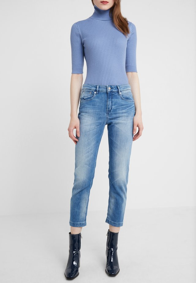 PASS - Jean slim - mid blue