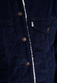 Levi's® - SHERPA TRUCKER - Lett jakke - vintage navy blazer - 5