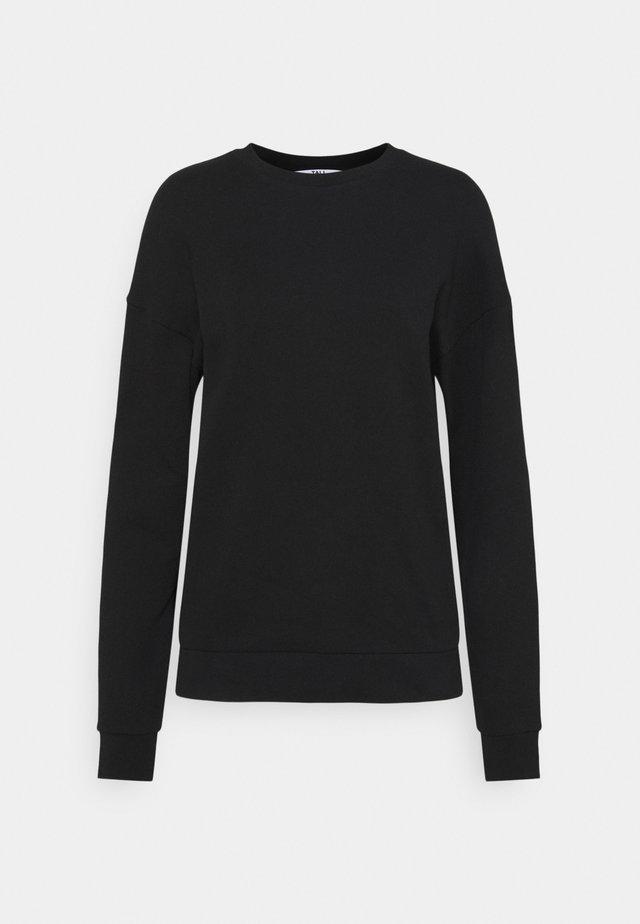 TALL BASIC BLACK - Sweatshirt - black