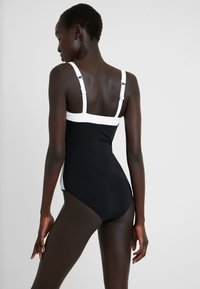 JETS BY JESSIKA ALLEN - BANDED - Maillot de bain - black/white - 2