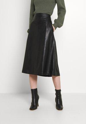 BYESONI SKIRT - A-line skirt - black
