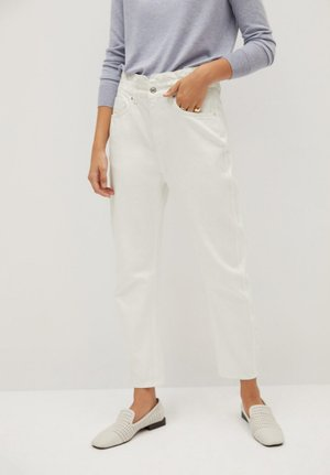 SLOUCHY - Jeans Tapered Fit - white
