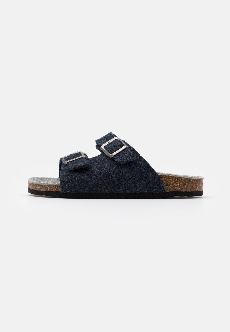 Bianco - BIACAS  - Pantoffels - navy blue