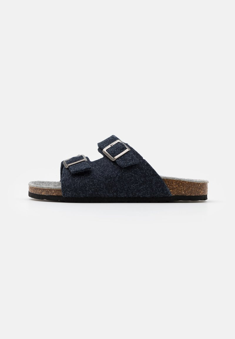 Bianco - BIACAS  - Slippers - navy blue
