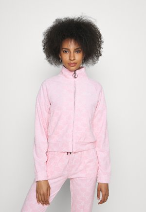 TOWEL TANYA TRACK - Zip-up sweatshirt - almond blossom