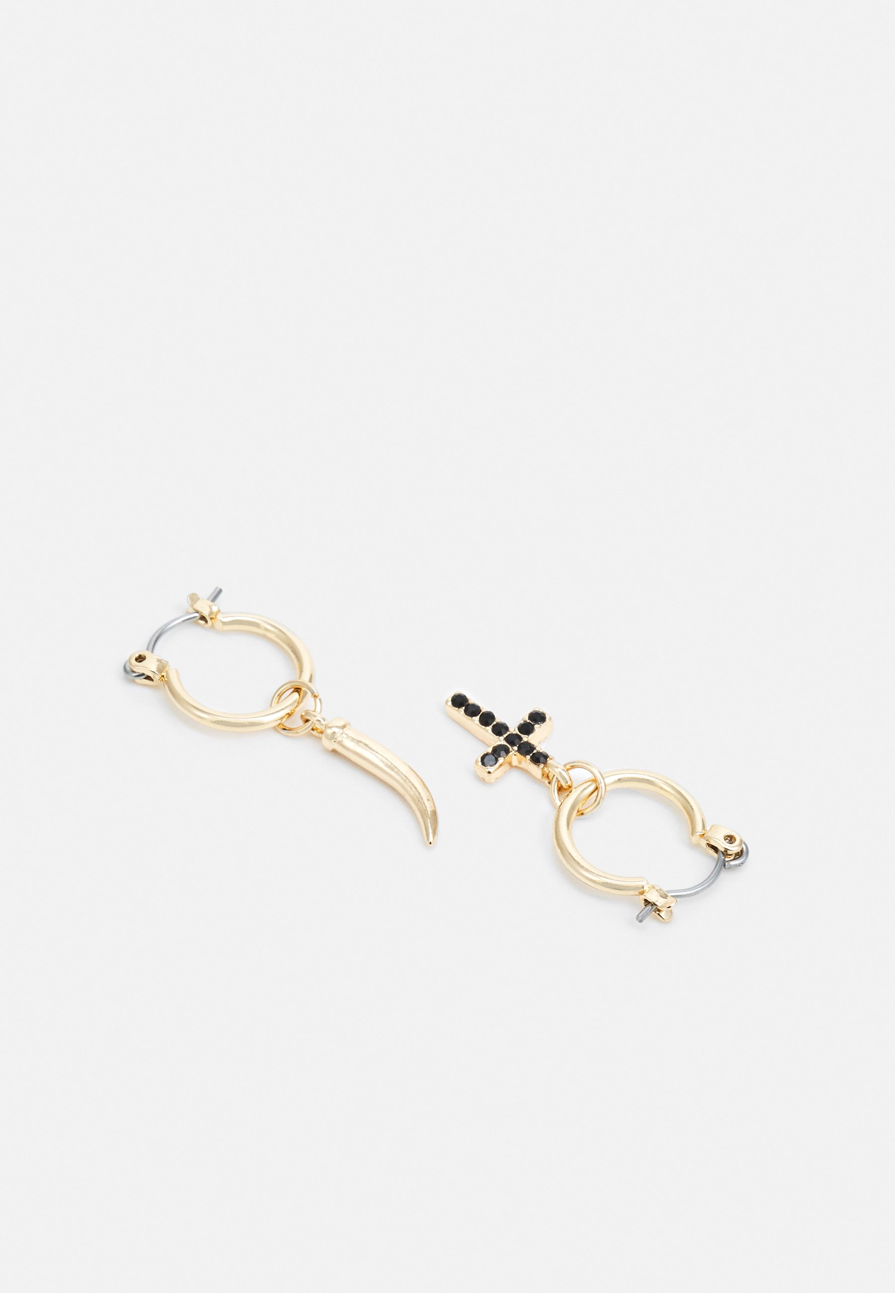 Homme CROSS AND TUSK ASYM HOOPS - Boucles d'oreilles