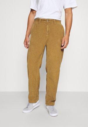 LOOSE FIT PANT - Pantalon classique - tan