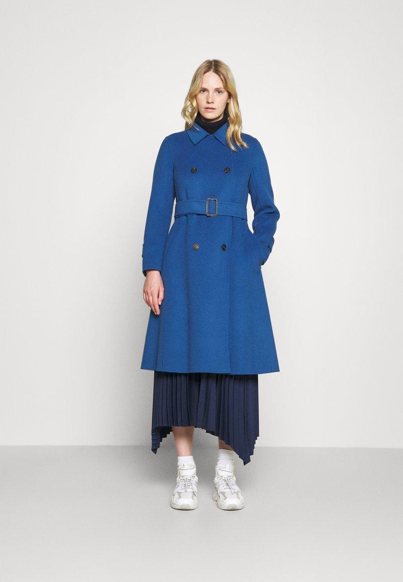 WEEKEND MaxMara - STRUZZO - Classic coat - dusty blue
